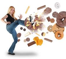 Kicking Junk Food